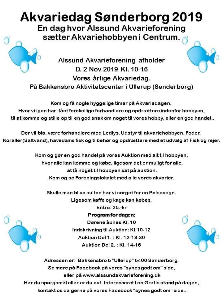 Akvariedag Sønderborg 2019